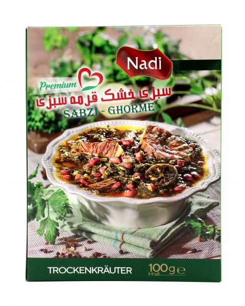 Ghormeh Sabzi Kräutermischung Nadi