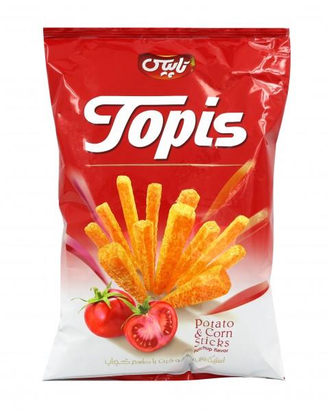Mais Pomes Chips Topis