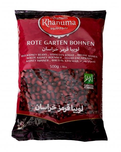 Rote Kidneybohnen Khanum Khanuma